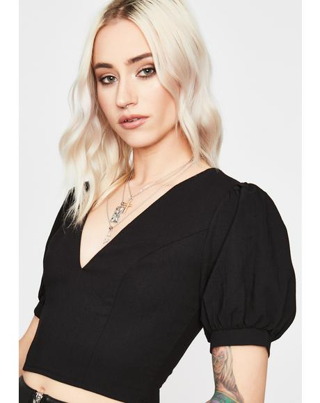 Too Posh Crop Top