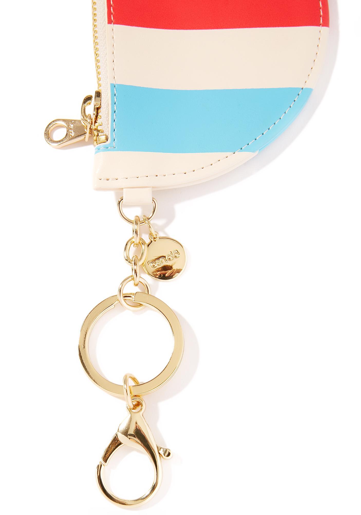 Zip Zip Pouch Keychain