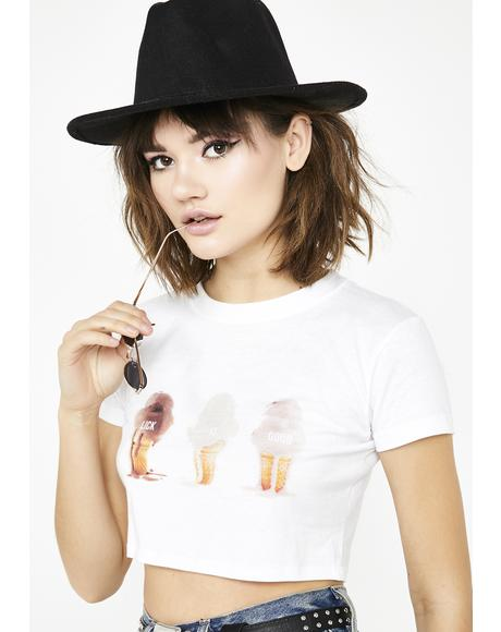 Lick It Good Cropped Tee