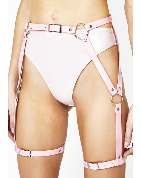 Pixie Down To Play Leg Harness
