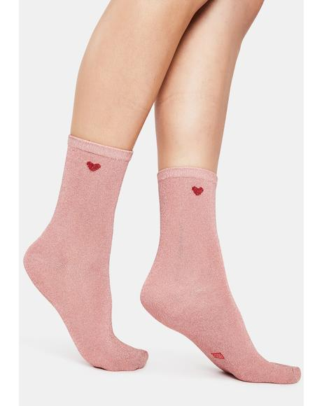 Heart Not Life Socks