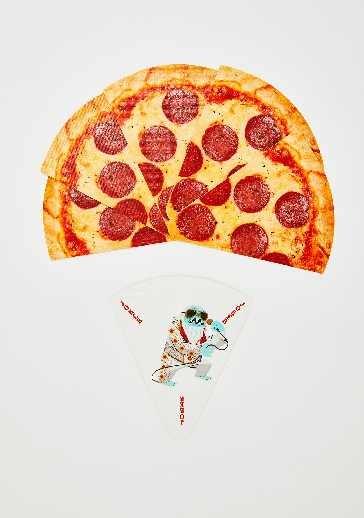 Hot N' Ready Pizza Playing Cards