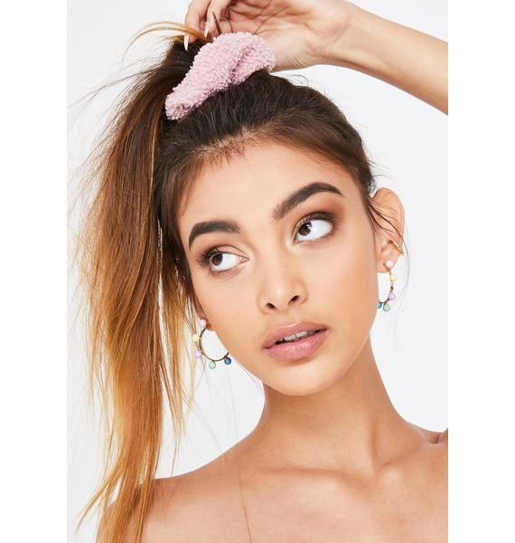 Bae Good Hair Day Fuzzy Scrunchie