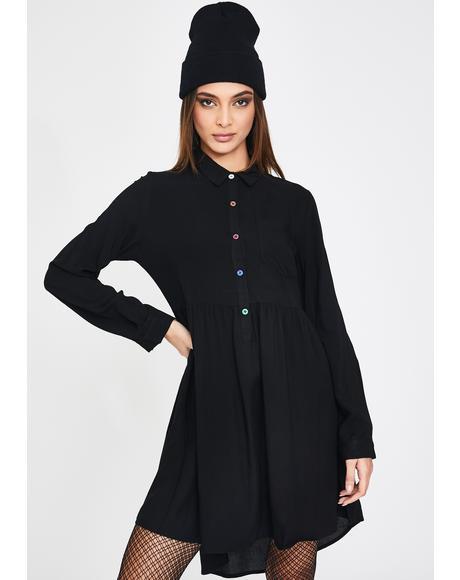 Daydreamin' Shirt Dress