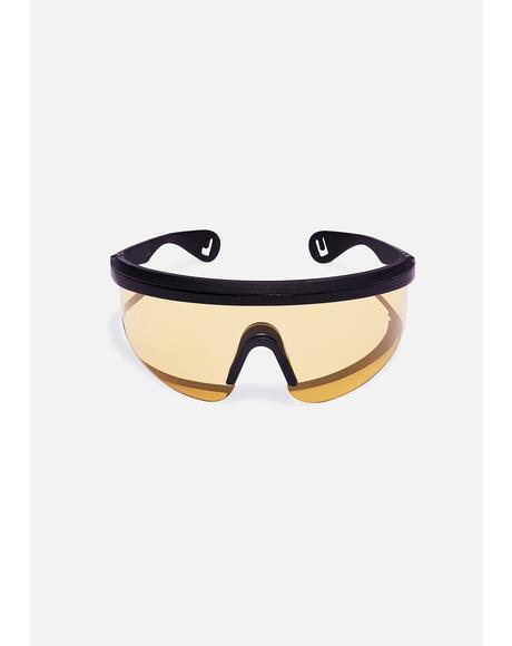 Yellow Runner Sunglasses