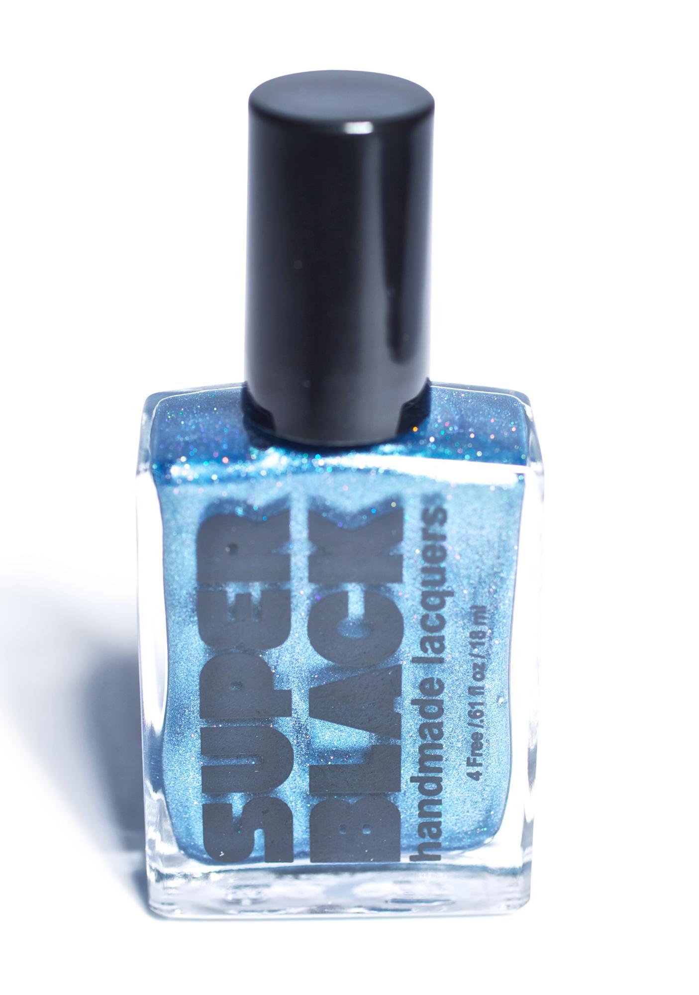 SUPER BLACK Frostbite Nail Polish
