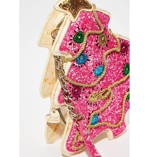 Betsey Johnson One Smart Cookie Crossbody