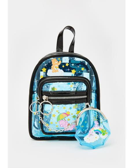 Clearly A Dreamer Mini Backpack Set