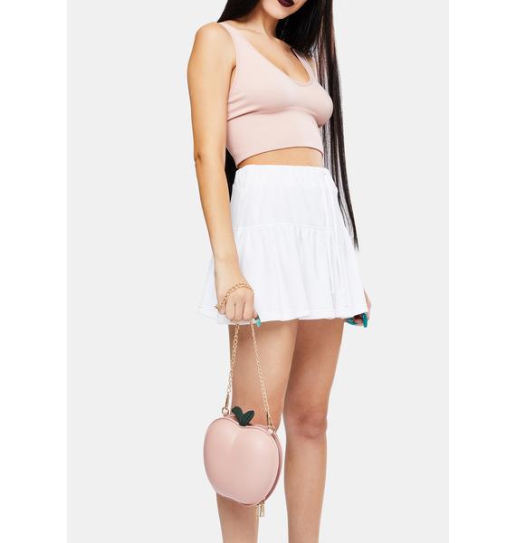 Peachy Heiress Crossbody Bag