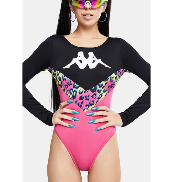 Kappa Authentic Daiana Graphik Bodysuit