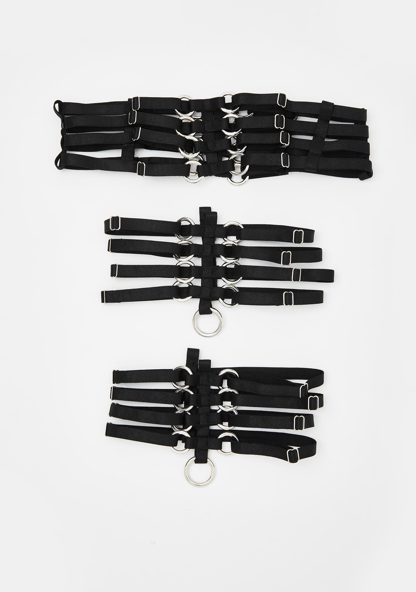 Sinful Fatal Play Garter Belt Set
