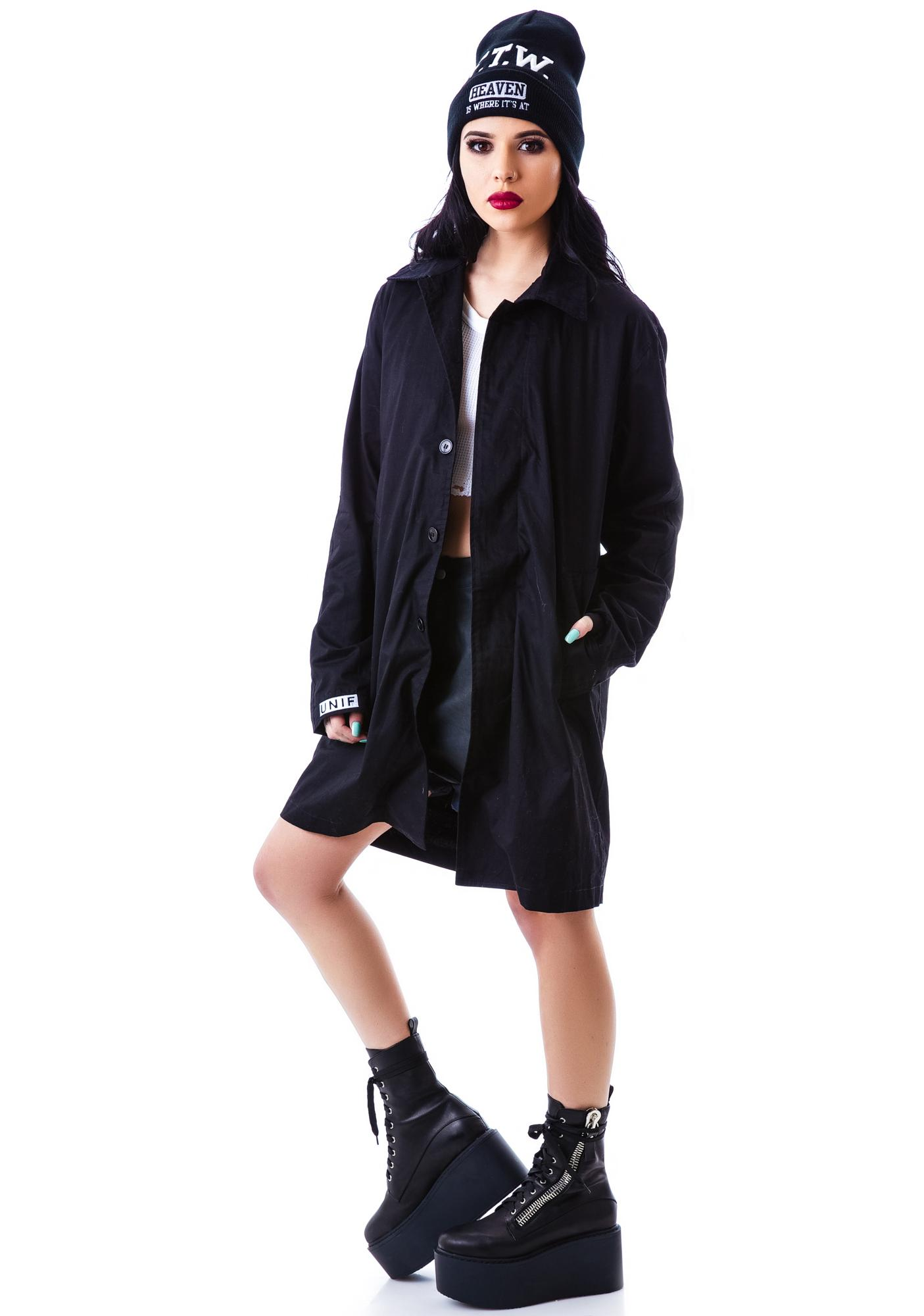 UNIF Die Trench Coat