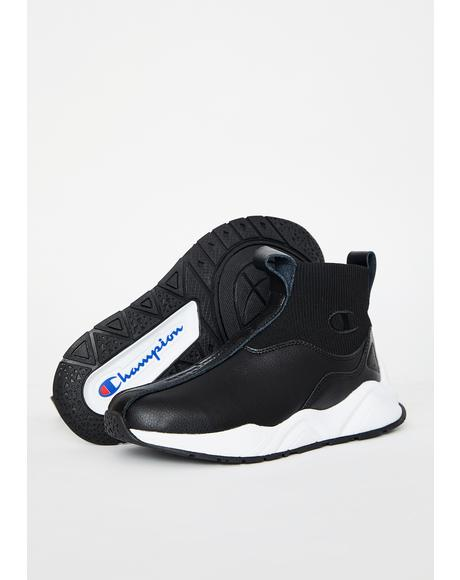 Black Rally LTW Sock Sneakers
