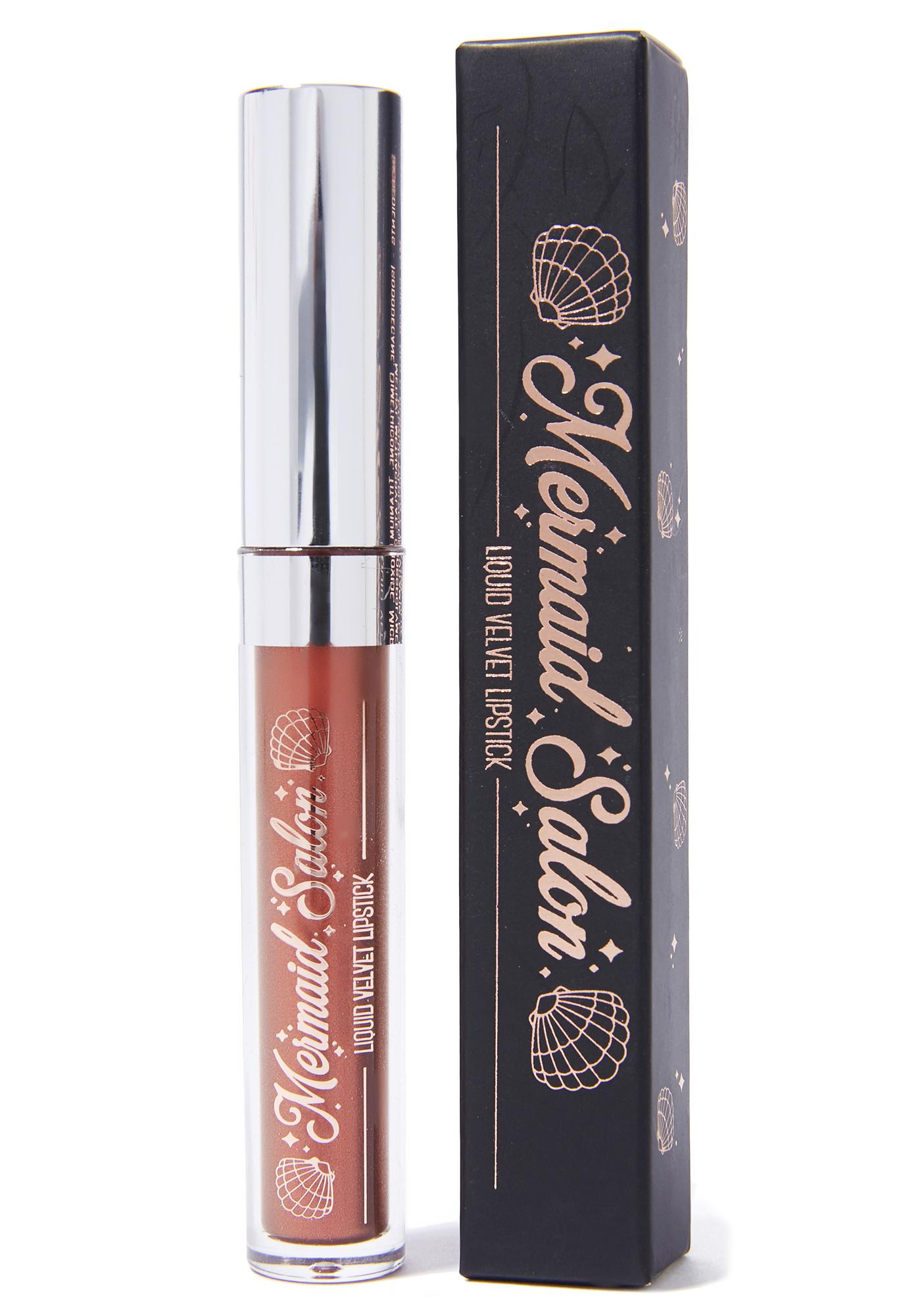 Mermaid Salon Coco & Co Metallic Liquid Lipstick