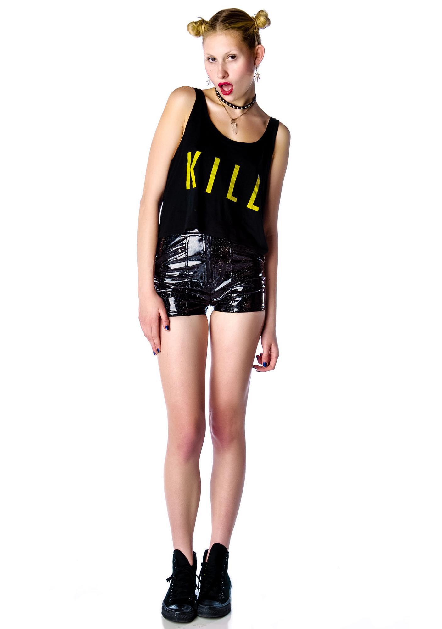 Kill Brand Kill Crop Tank