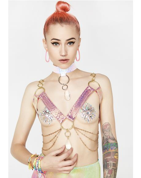 Sunset Prism Dragon Crystal Harness