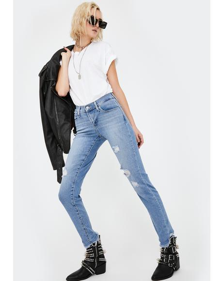 Berlin Lights Curvy Skinny Jeans