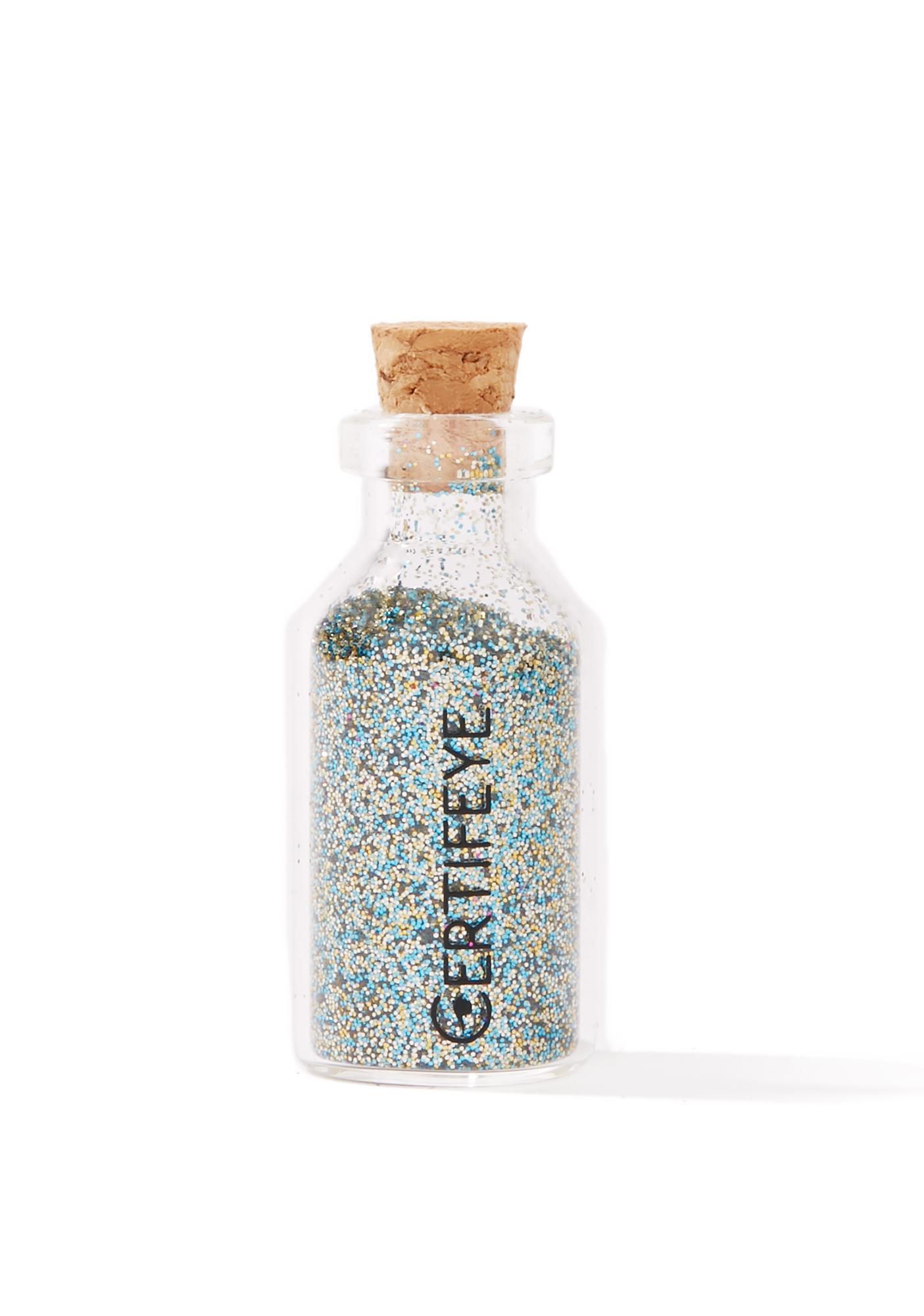 Certifeye Ocean Star Mini Glitter Bottle