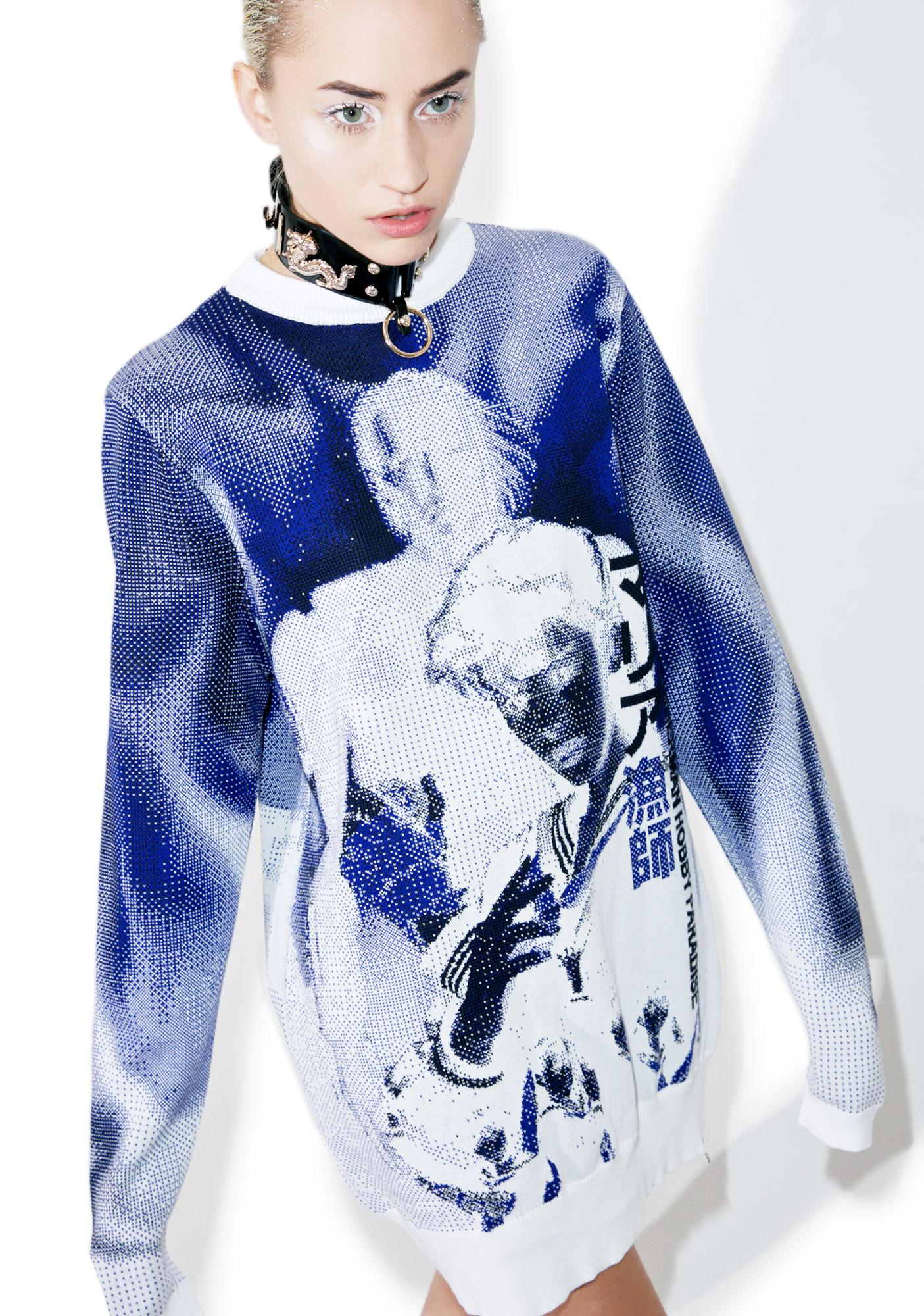 Maria ke Fisherman Knit Suke Sweater