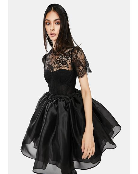 Lacie Bustier Lace Bodysuit