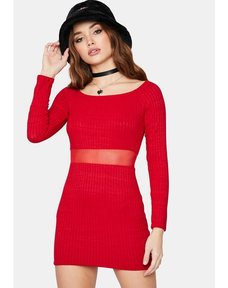 Give It Up One Time Bodycon Mini Dress
