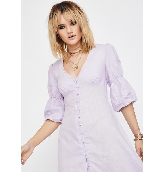 Glamorous Lilac Maxi Dress