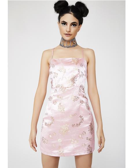 Rose Kiko Dress