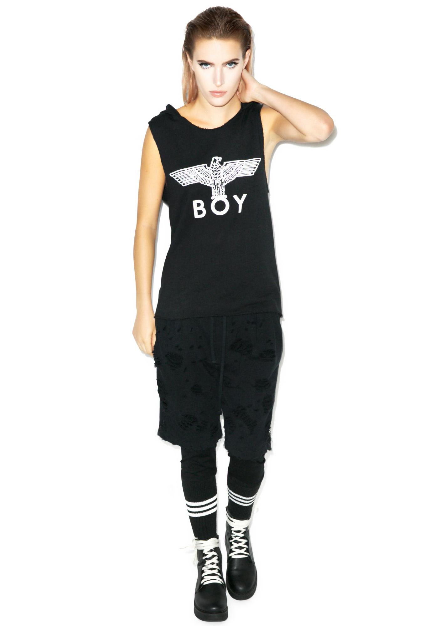 BOY London Hooded Tank