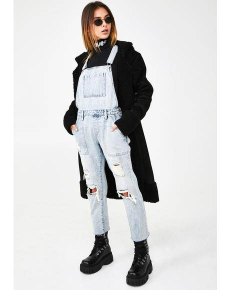 Ruby Denim Overalls