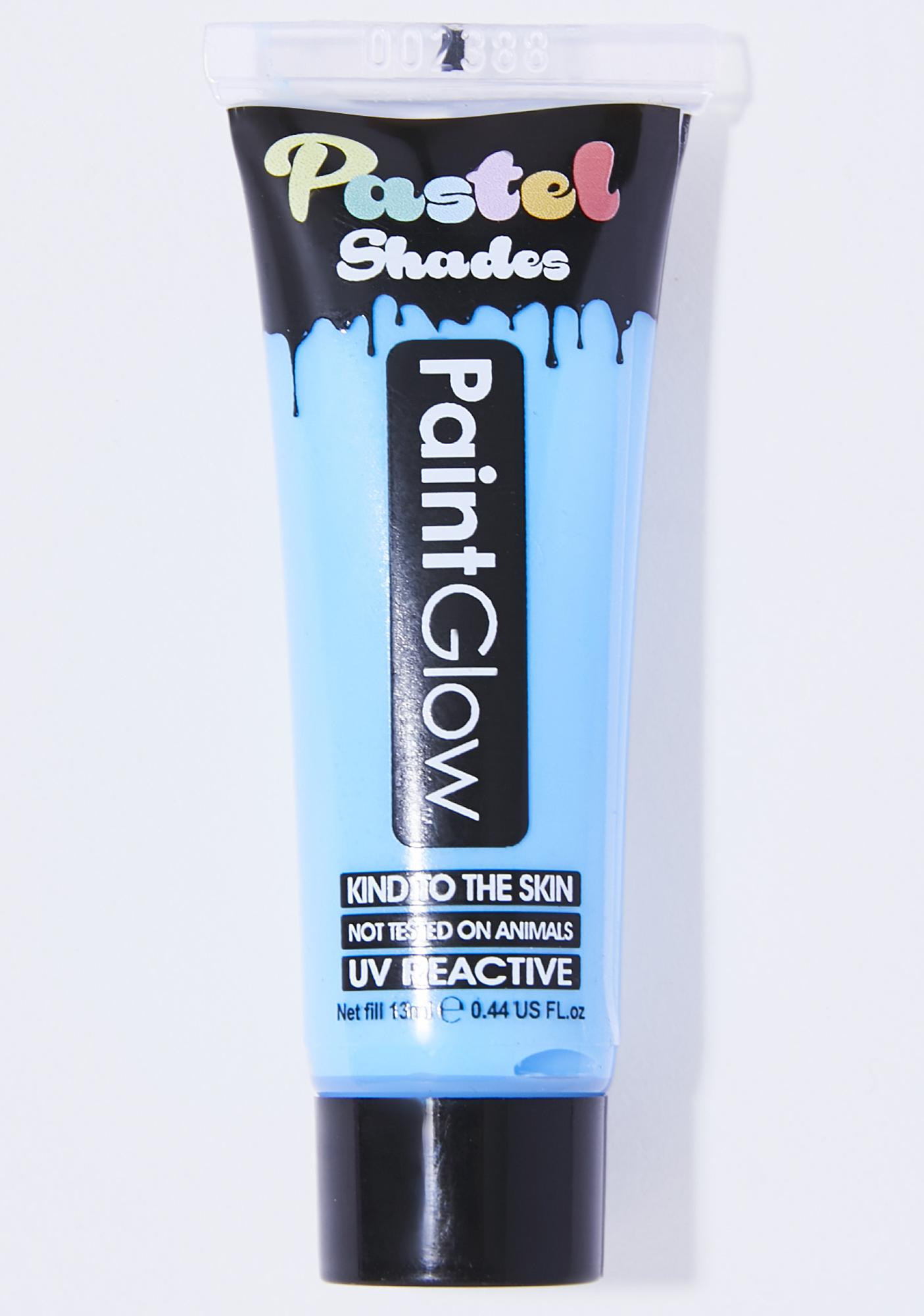Pastel Blue Rave On UV Face N' Body Paint