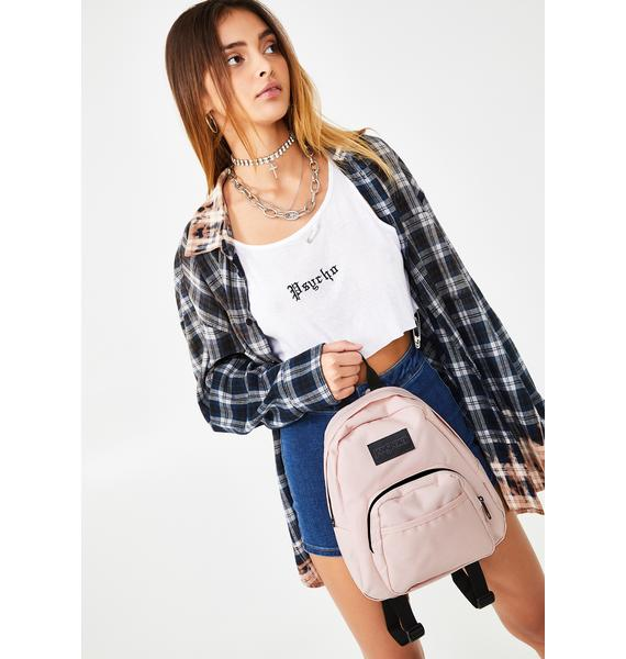 JanSport Rose Half Pint Mini Backpack