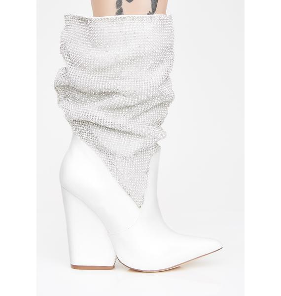 Shoutout To My Haters Chainmail Boots