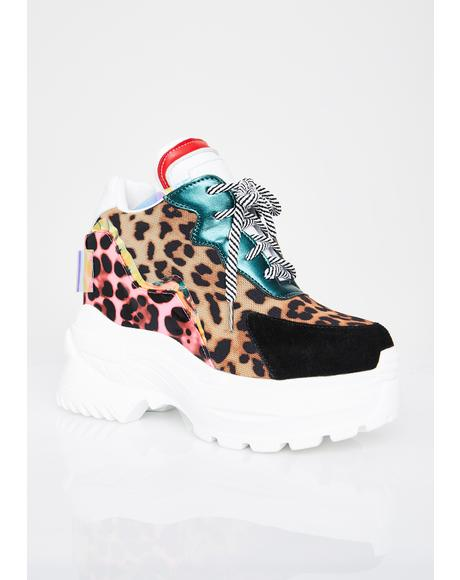 Hottest Kitty Platform Sneakers
