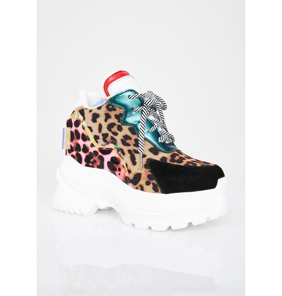 Anthony Wang Hottest Kitty Platform Sneakers