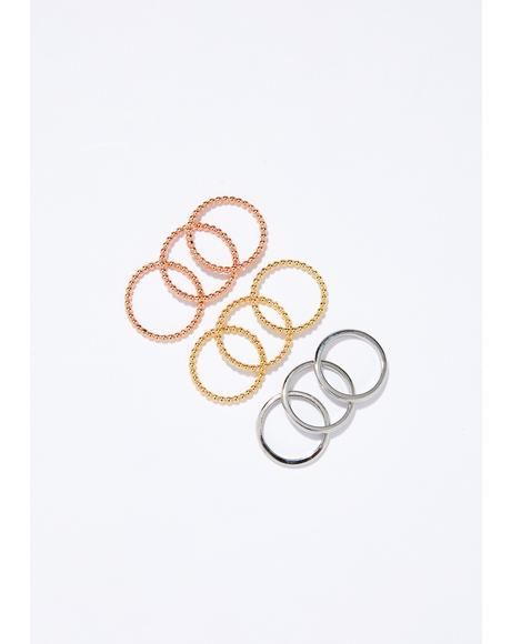 Ain't The Marryin' Type Ring Set