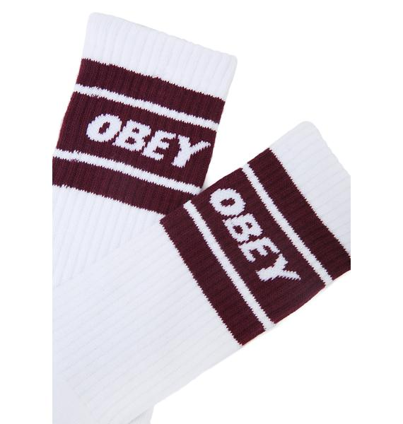 Obey Cooper II Athletic Socks