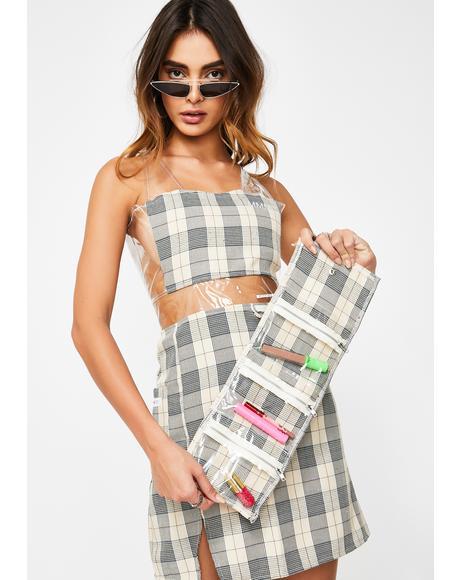 Plaid Cosmetics Case Dress