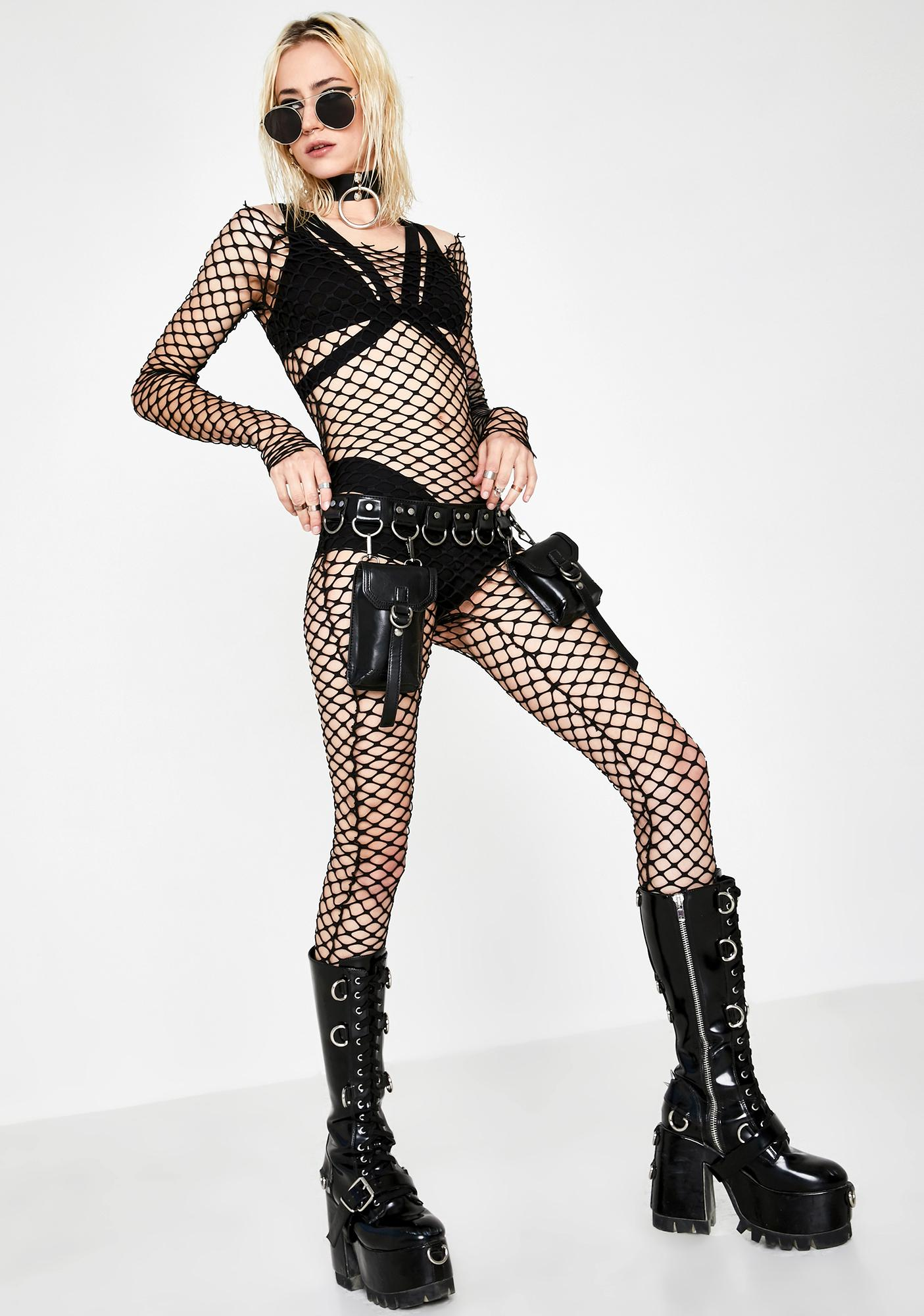 Kiki Riki Net Force Fishnet Catsuit