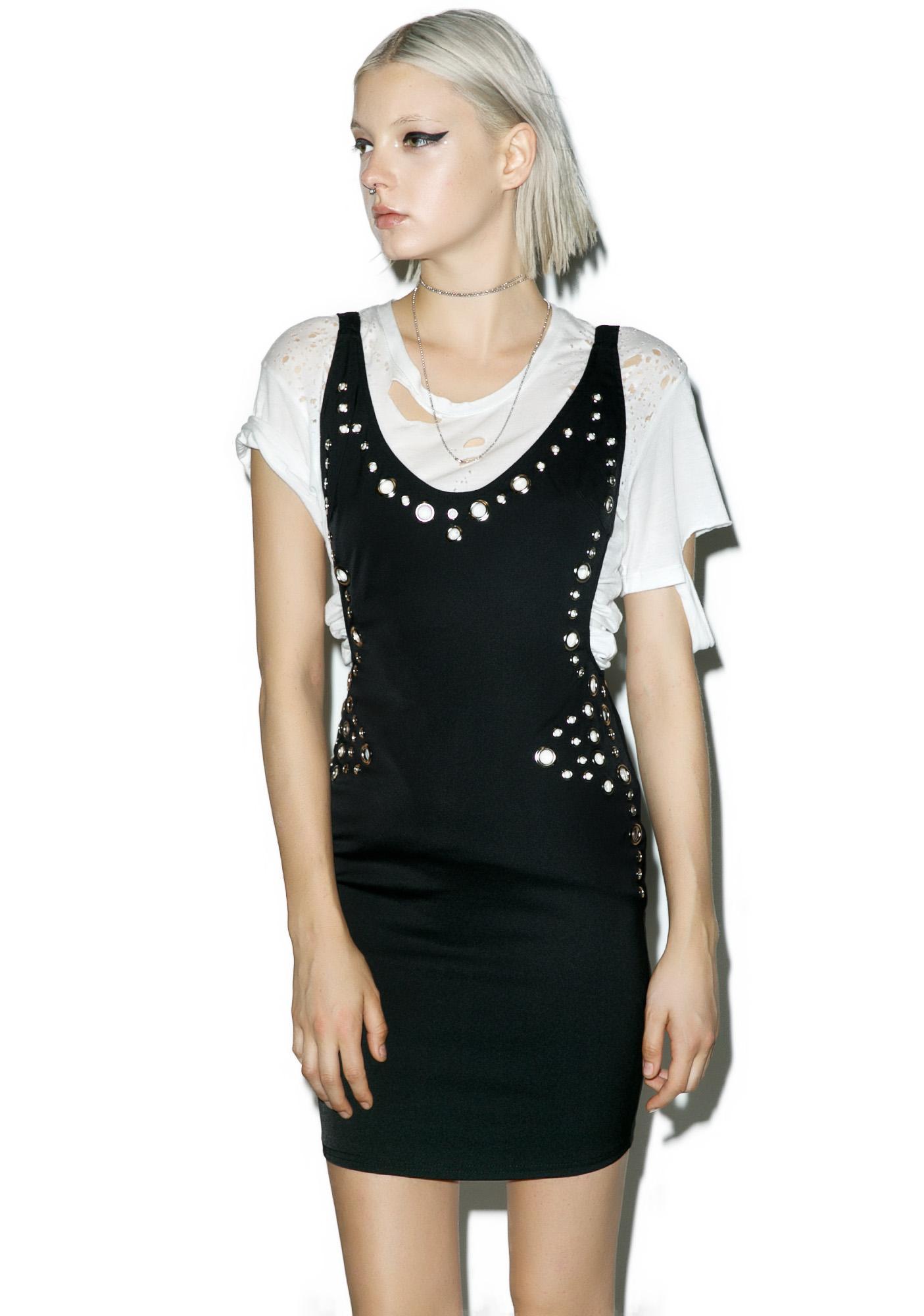 Metallurgy Mini Dress