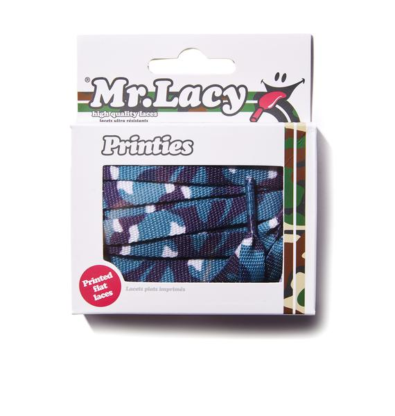 Mr. Lacy True Blindsided Camo Shoelaces