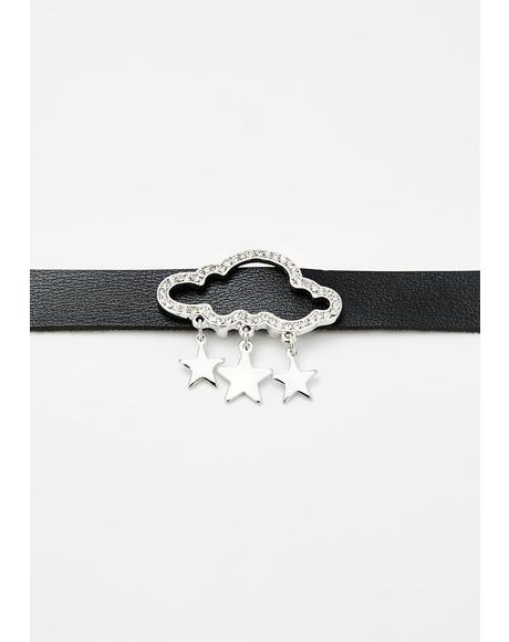 Raining Magic Cloud Choker