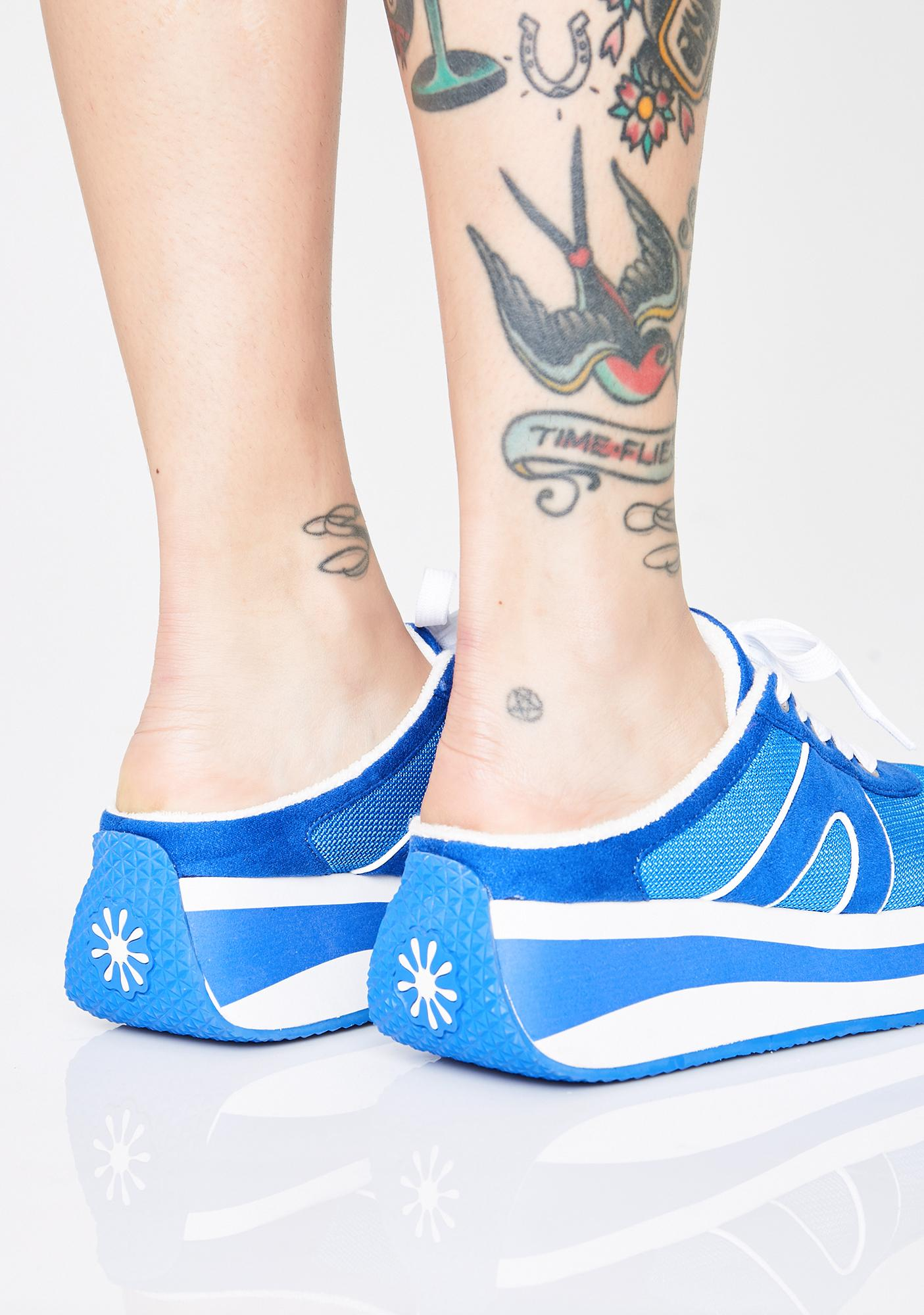 dELiA*s by Dolls Kill Young At Heart Sneaker Slides
