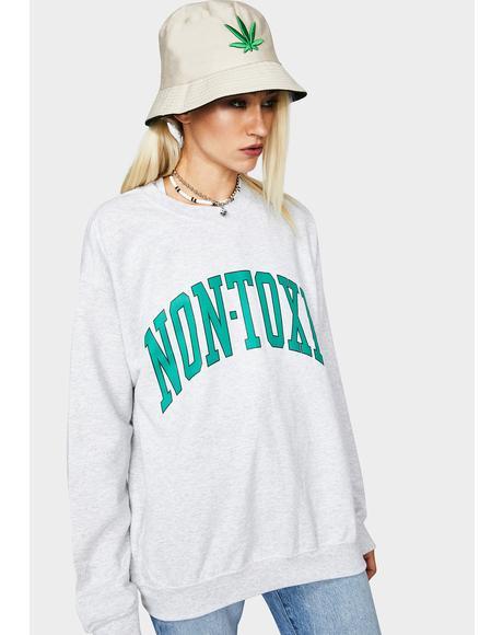 Non Toxic Graphic Sweatshirt