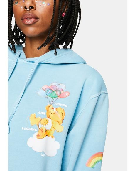 Up In The Sky Graphic Hoodie
