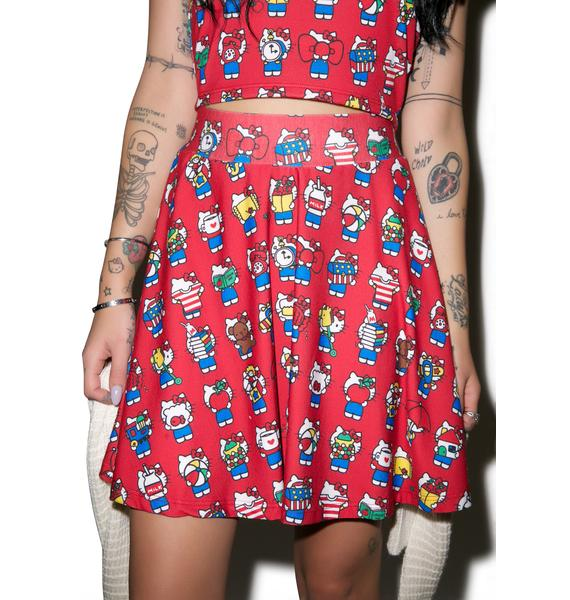 Japan L.A. Hello Kitty 40th Skirt