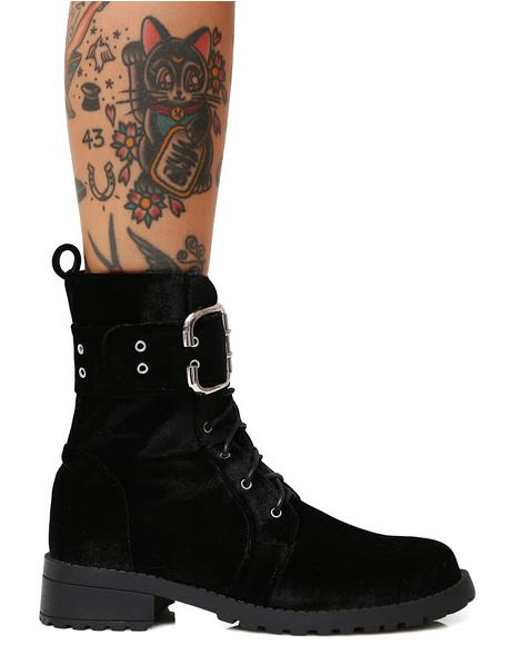 Onyx Savaged Combat Boots