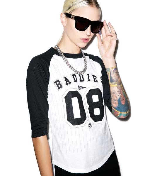Civil Clothing Baddies Only Raglan