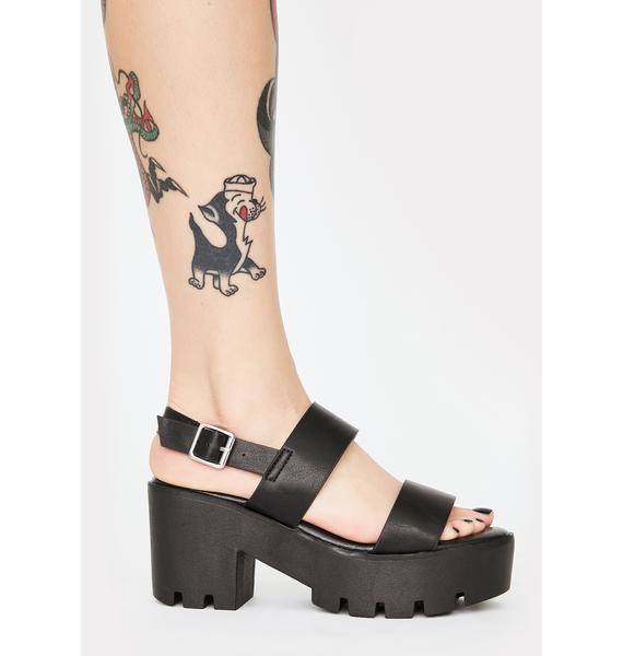 Major Gossip Platform Sandals