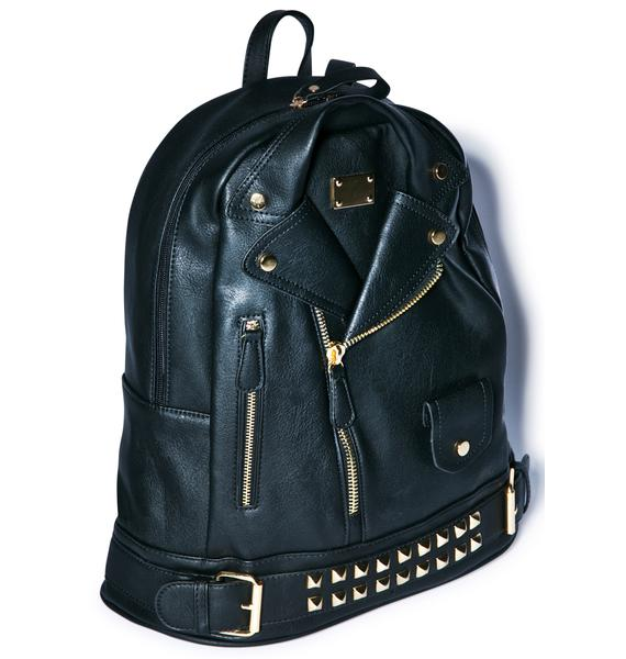 Moto Jacket Backpack