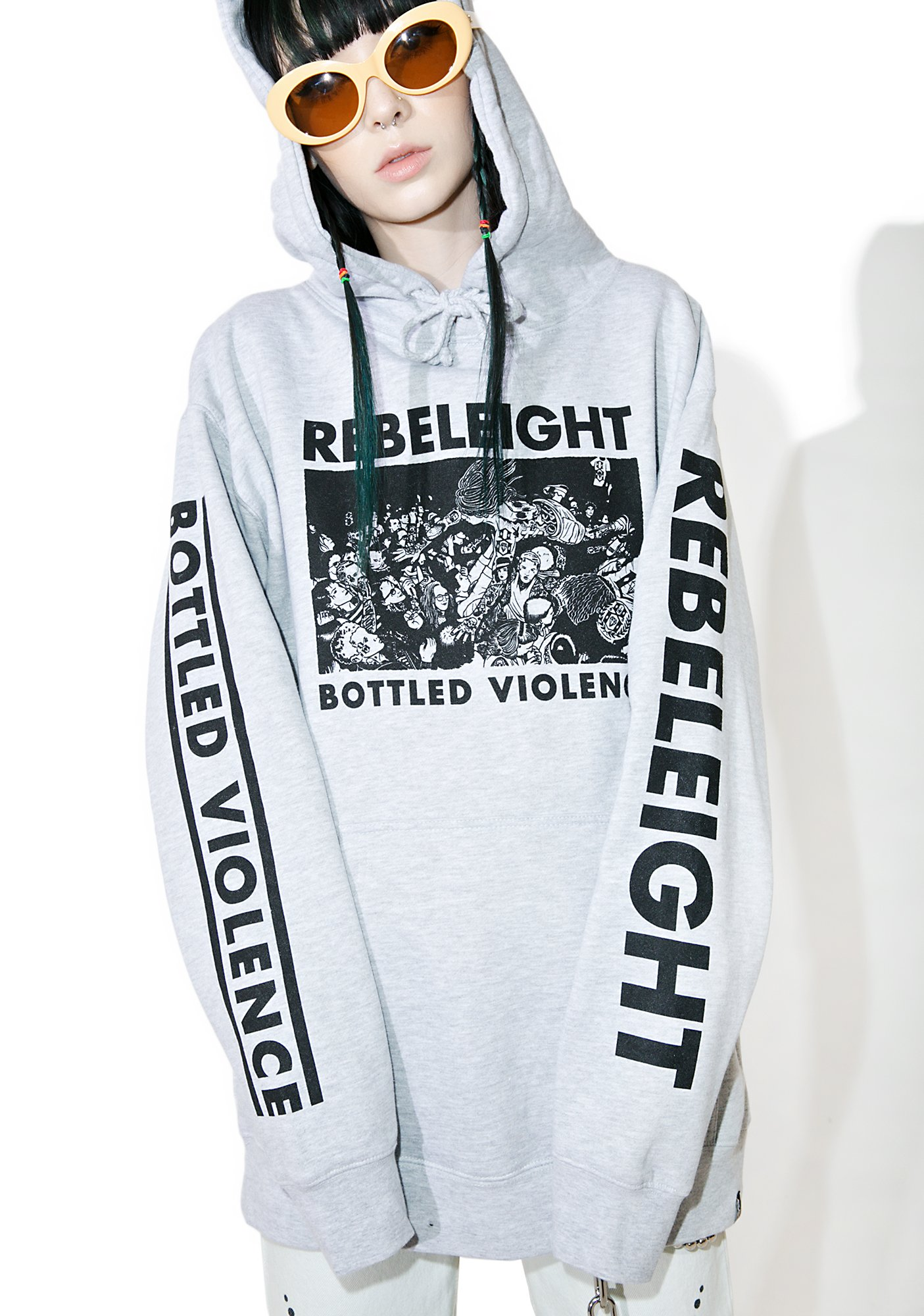 Rebel8 Bottled Violence Pullover Hoodie